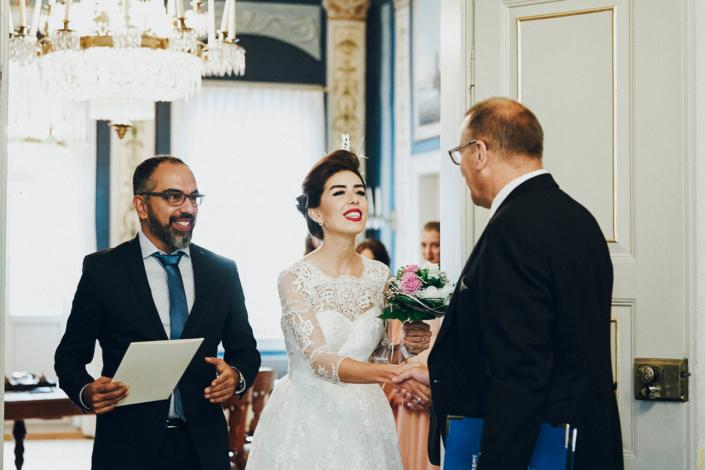 Hochzeit im Standesamt vom Brautpaar Darya und Sasa