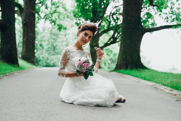 Hochzeitsfotograf im Hofgarten Coburg