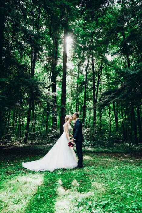 Hochzeitsfotograf für Coburg in der Rosenau
