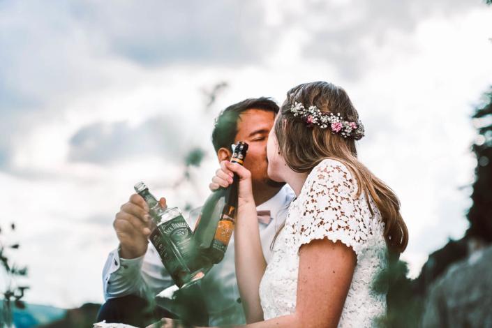 Hochzeitsfotograf für Würzburg in den Weinbergen