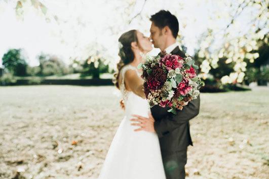 Hochzeit in der Rosenau in Rödental bei Coburg