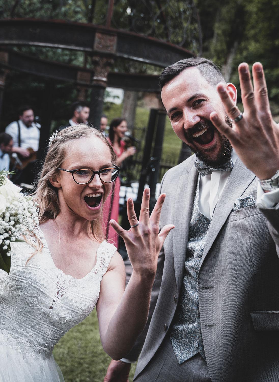 Hochzeitsbilder einer Hochzeit an Bischofsmühle bei Hof